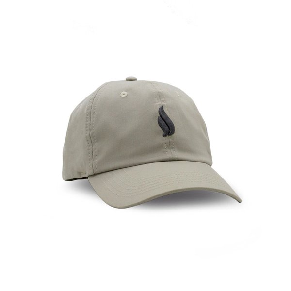 BONÉ SIMPLE DAD HAT KHAKI LOGO