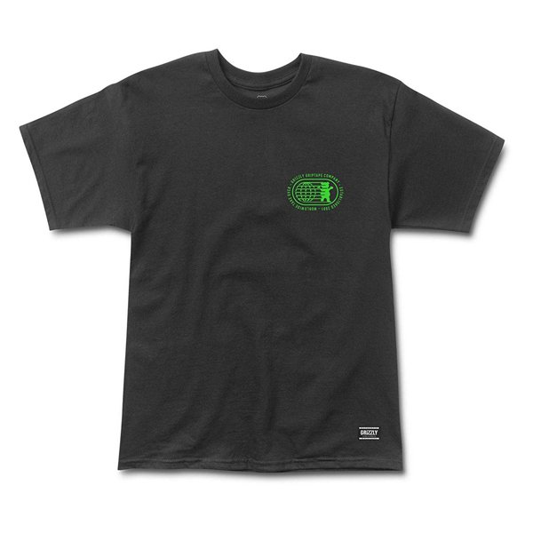 CAMISETA GRIZZLY TAKE OVER BLACK