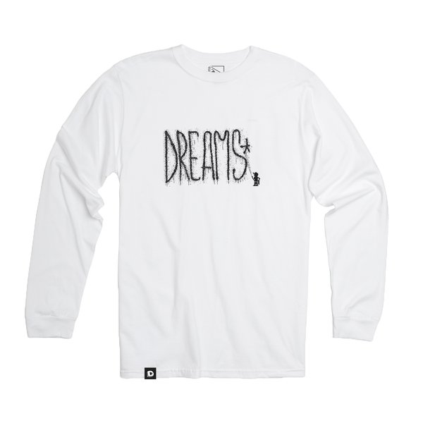 CAMISETA DREAMS X BURNI ML BRANCA