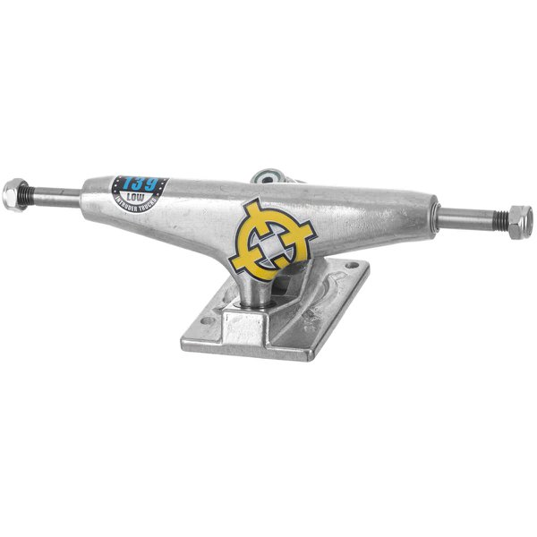 TRUCK INTRUDER HOLLOW PRO SÉRIES SILVER LOW 139MM