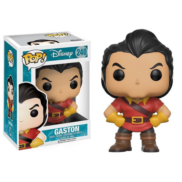 A Bela e a Fera: Gaston Pop! Vinil (Beauty and the Beast: Gaston Pop! Vinyl)