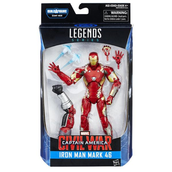 IRON MAN MARK 46 - MARVEL LEGENDS: CAPTAIN AMERICA – CIVIL WAR WAVE 2