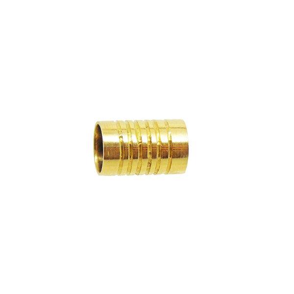 Separador de Ouro 18K para Pingentes com frisos
