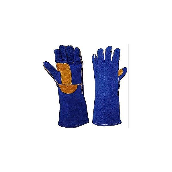 Luva para Soldador Work Premium Azul HSD  873009e3d8a
