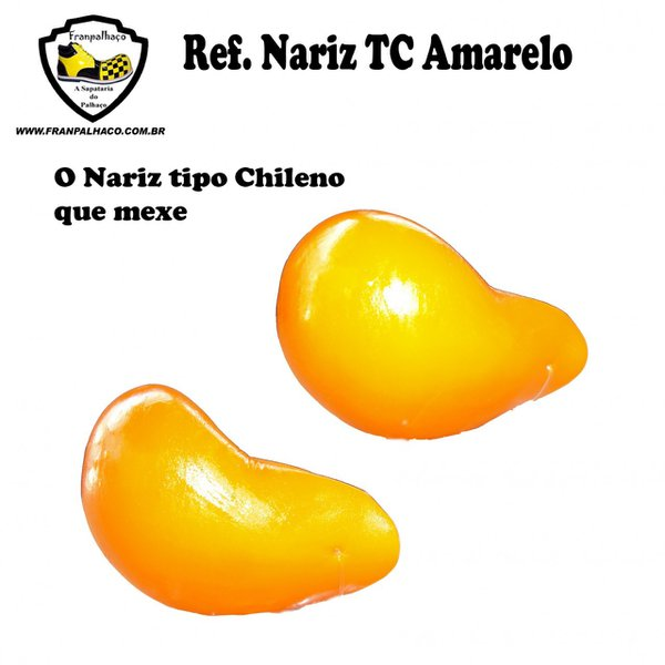 Nariz tipo Chileno Amarelo