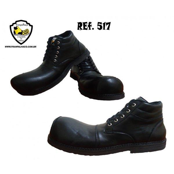 Sapato de Palhaço Preto Ref 517