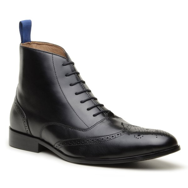 Bota Oxford Monza Brogue Preto