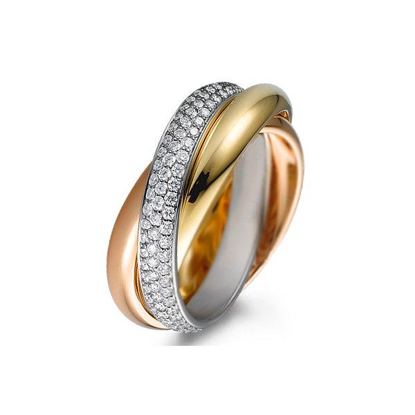 79db12b53b6 Aliança Cartier com Diamantes - 0378AL