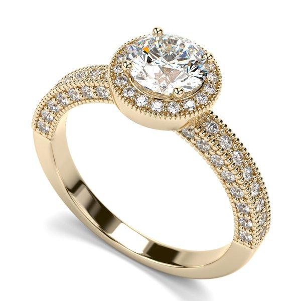 Solitário com Diamantes de 50 Pontos - 1800SOL   Helder Joalheiros f7ad40c106