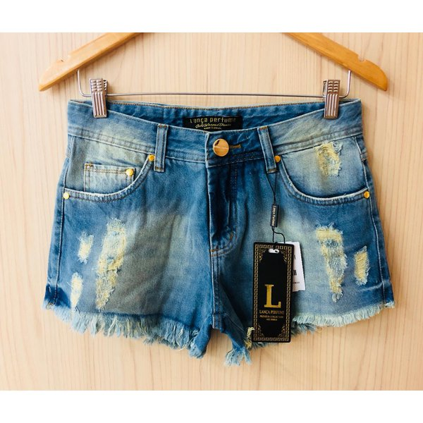 Shorts Jeans Lança Perfume