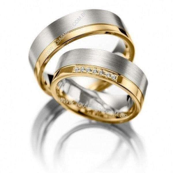 Alianças de Casamento Super Chic