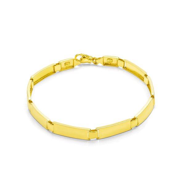 Bracelete de Ouro Palmas