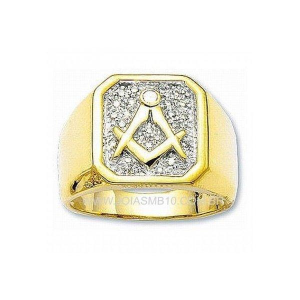 Anel de Ouro Masculino Carapicuíba