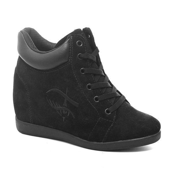 Tênis Sneaker LandFeet Cris Piza 01 Preto