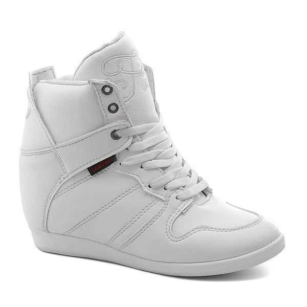 Tênis Sneaker LandFeet Cris Piza 02 Branco