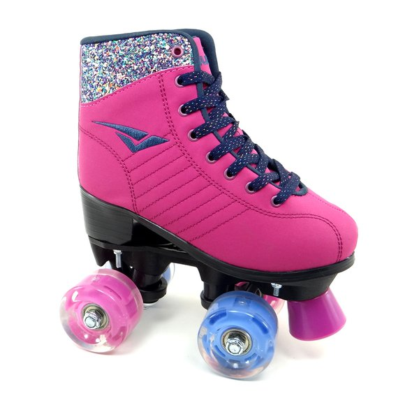 Tênis Bouts Patins Skid Led Magenta - 55002