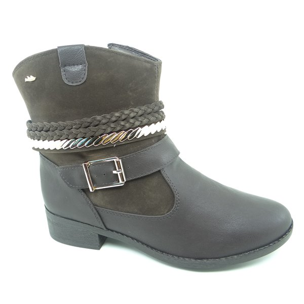 Bota Feminina Cano Curto Dakota Cafe - B8412