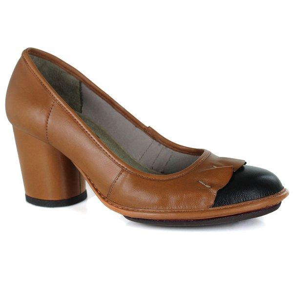Sapato Em Couro Lolla Alto Tamara J.Gean