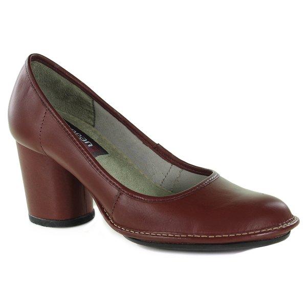 Sapato Em Couro Lolla Vermelho J.Gean