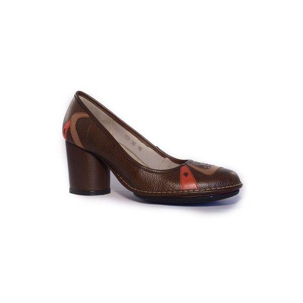 Sapato Em Couro Lolla Alto Truffa J.Gean