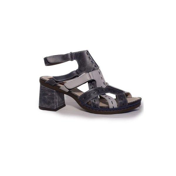 Sandália em Couro Desiree Stone J.Gean