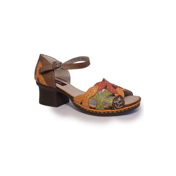 Sandália em Couro Marjorie Cacau J.Gean