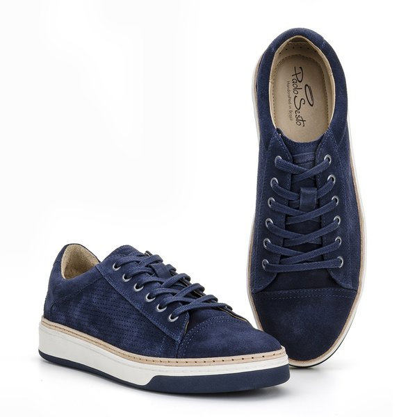BROOKLIN SUEDE NAVY