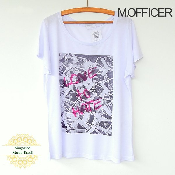 Blusa M. Officer Love to Hate