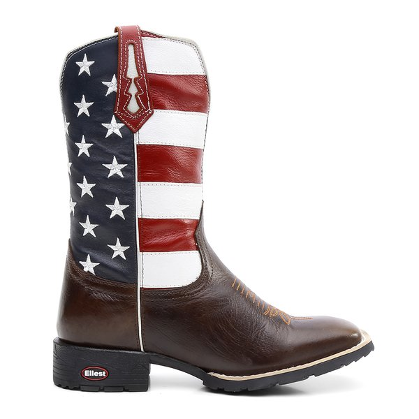 Bota Texana Flag USA