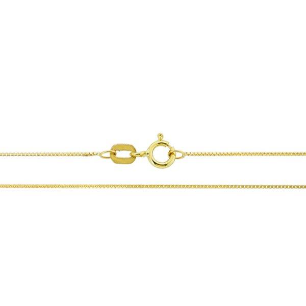 Corrente Veneziana com 45cm de Ouro 18K