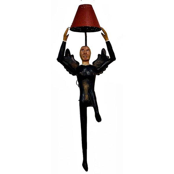 Luminária Escultura Anjo Bailarino Grande