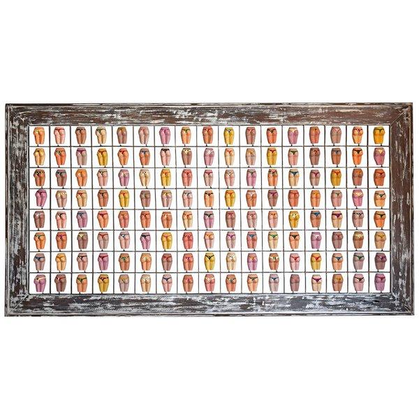 Painel Grade de Bundinhas Variadas 136 pçs