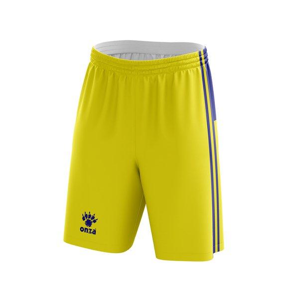 Short Jogo Amarelo