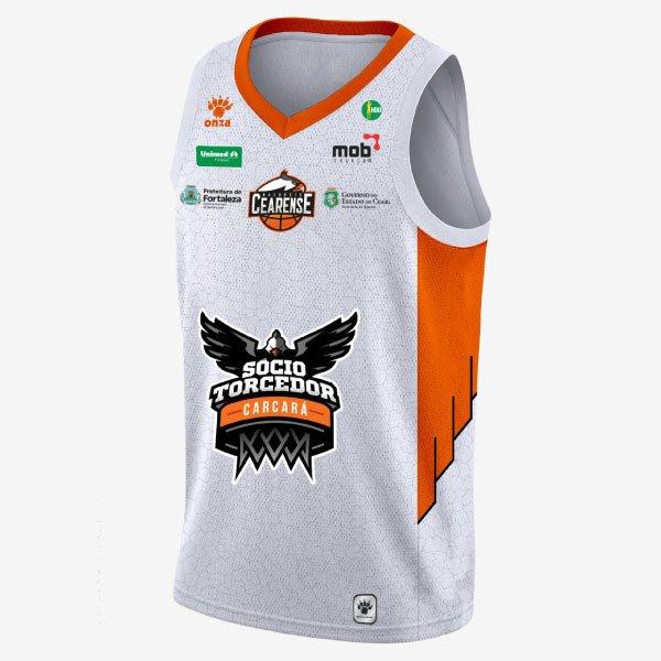 Camisa Basquete Cearense 2018 Uniforme 1