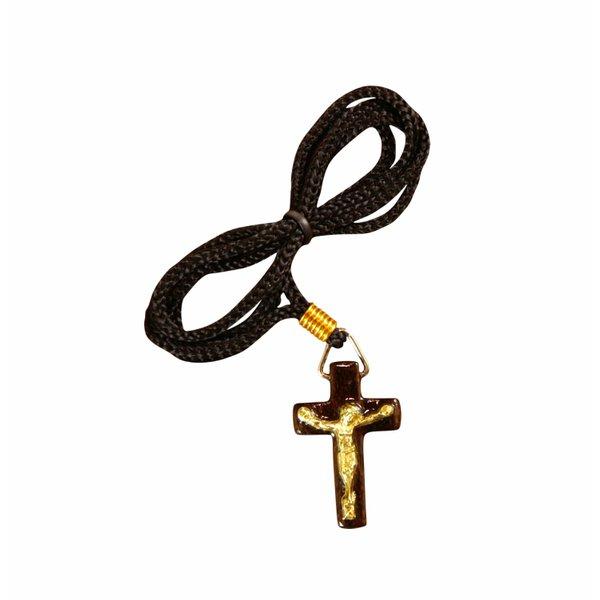 Cordão Cruz com Cristo