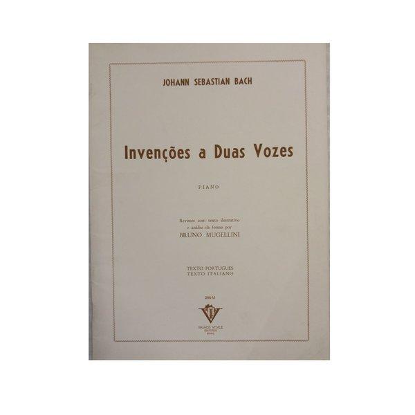 Método Para Piano Invenções A Duas Vozes Bach