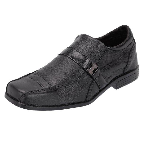 Sapato Social Infantil em Couro Preto