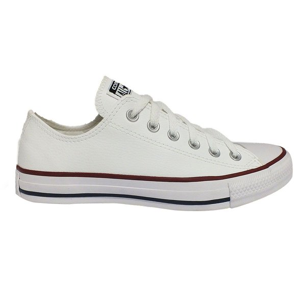 Tênis Converse All Star couro Ct As Core Ox - Branco  9a79e267b87