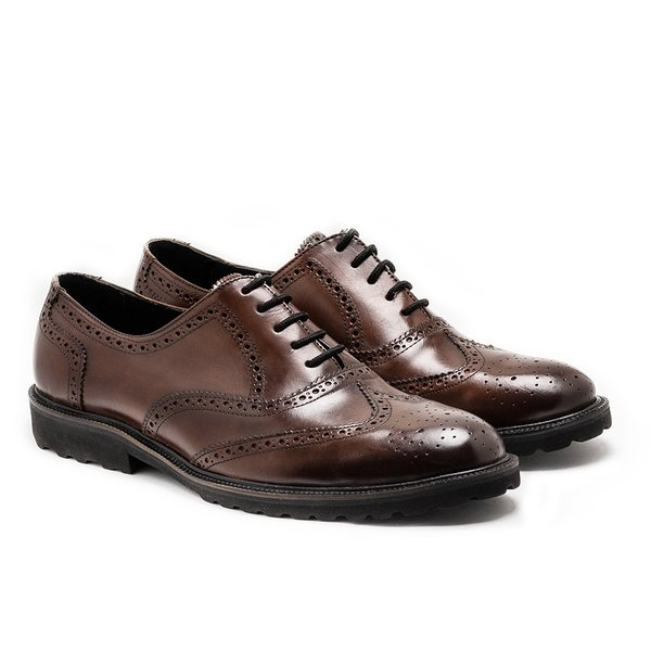 SAPATO MASCULINO BROGUE OXFORD