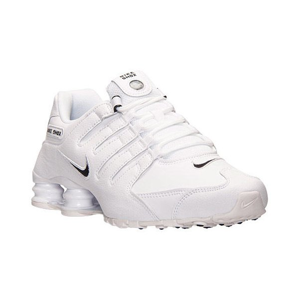 cdd9c79608 Tênis Nike Shox Nz Eu Branco Masculino