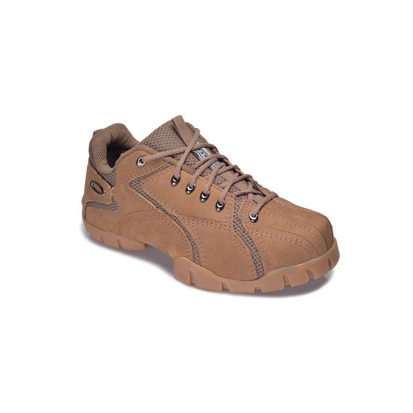TENIS OAKLEY FLAK LOW COURO CARAMELO NATURAL