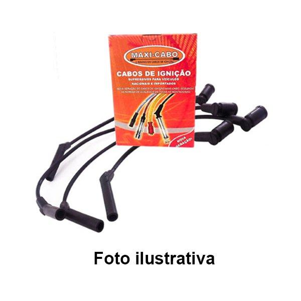 Jogo de cabos de vela EcoSport 2.0 16V 2003/, Focus 2.0 16V 2005/2008, Mondeo 2.0 16V 2001/. Obs. com cambio manual