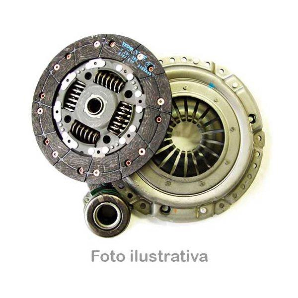 Kit de embreagem Bravo, Grand Siena, Idea, Linea, Palio, Siena, Strada e Punto 1.6/1.8 e 1.9 16V E-torq todos com cambio Dualogic 2008/