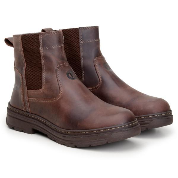 Bota Farmer Act Footwear Café + Meia Brinde