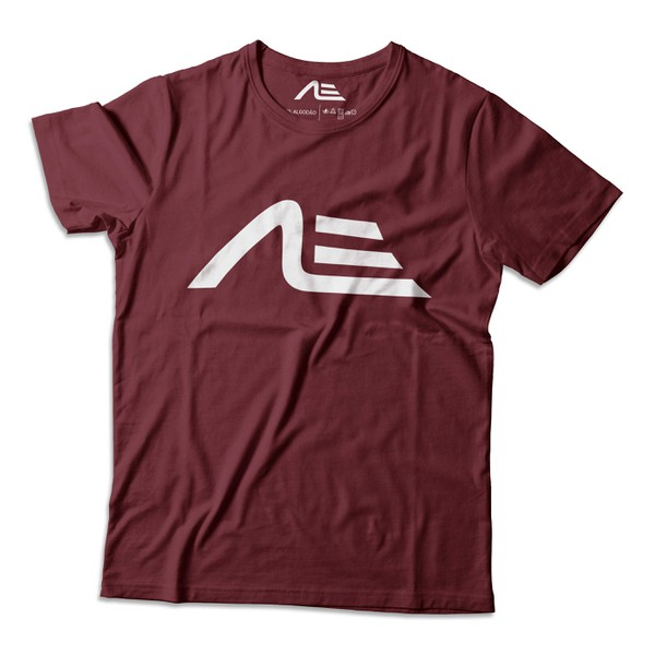 Camiseta Masculina Adaption Bordo