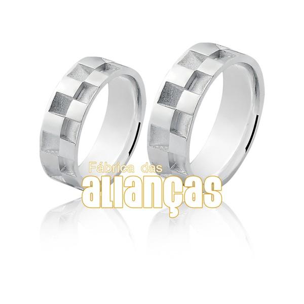 Aliança em Prata 0,950 k Exclusiva