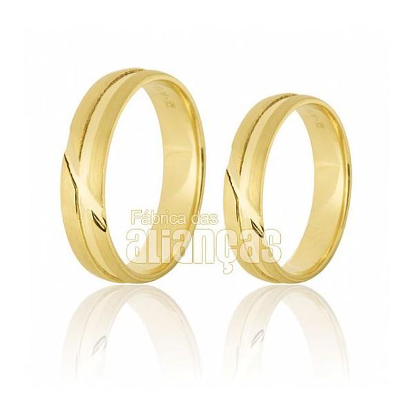 Alianças Tocantins de ouro 10K 0,416
