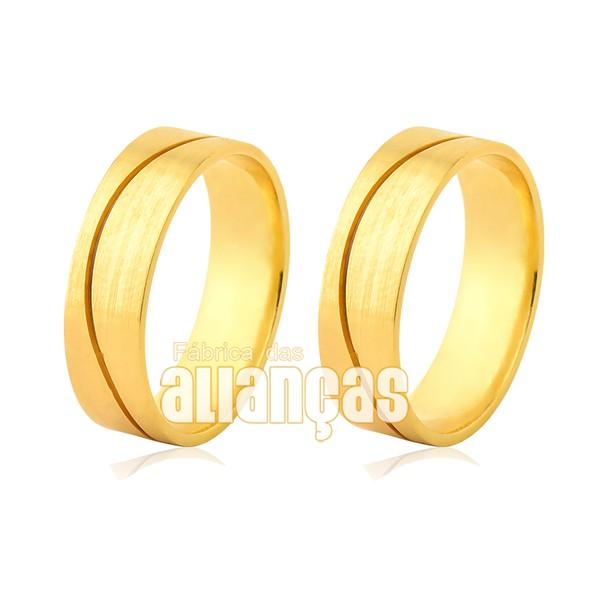 Alianças Piaui de Ouro 18k