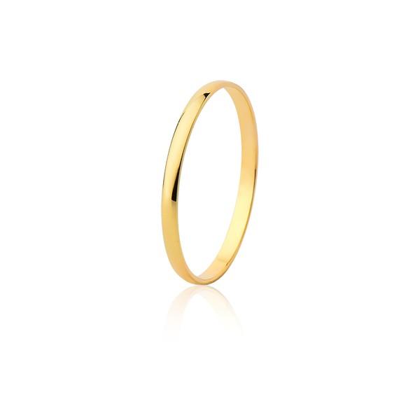 Aliança Ouro Amarelo 18k (1,70mm)