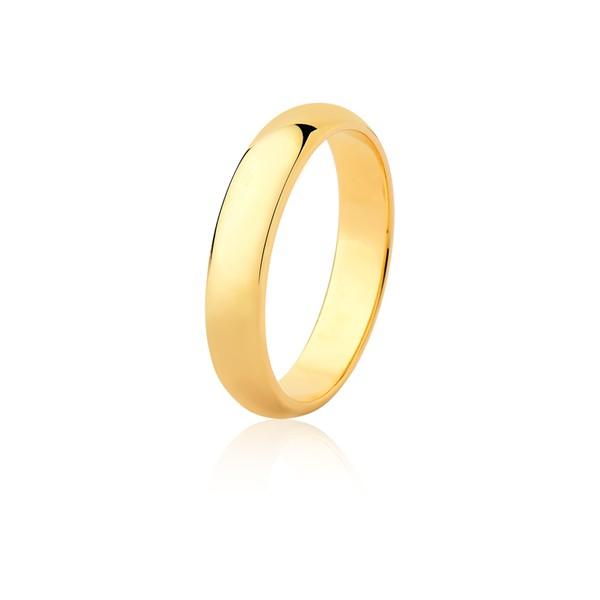 Aliança Ouro Amarelo 18k (4,20mm)